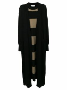 Sonia Rykiel long T-shirt dress - Black