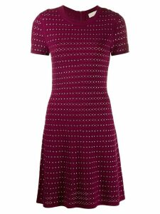 Michael Michael Kors flare mini dress - Pink