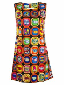 Moschino fruit machine print dress - Black