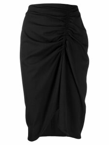 8pm Bellatrix draped skirt - Black