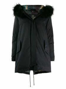 Mr & Mrs Italy Army down parka - Black