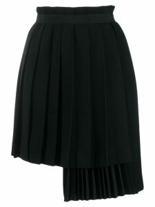 Ermanno Scervino wrap pleated skirt - Black