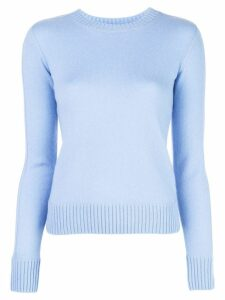 Vince ribbed knit detail sweater - 470