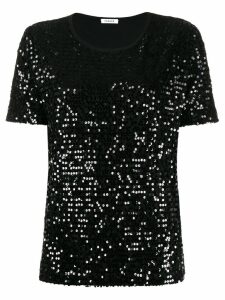 P.A.R.O.S.H. embellished T-shirt - Black