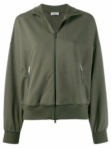 Brunello Cucinelli lightweight jersey jacket - Green