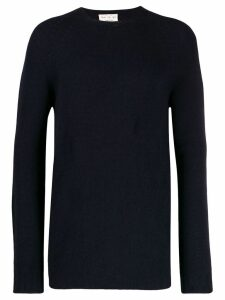 Ma'ry'ya ribbed knit detail sweater - Blue