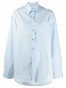 Ermanno Scervino relaxed fit shirt - Blue