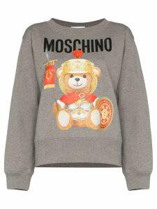 Moschino Roman Teddy logo sweatshirt - Grey