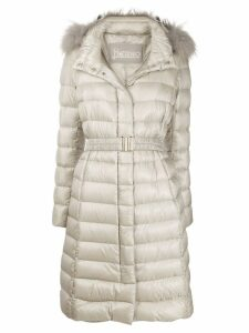 Herno ultralight belted coat - Neutrals