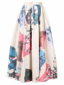 Roksanda Maia printed skirt - Neutrals