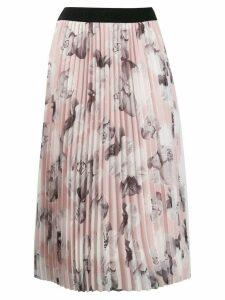 Karl Lagerfeld floral print skirt - Pink