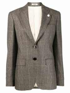 Lardini classic single-breasted blazer - NEUTRALS