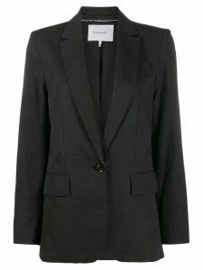 FRAME classic boyfriend blazer - Black