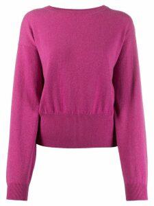 Brunello Cucinelli crew neck cashmere jumper - Pink