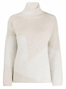 Lorena Antoniazzi turtle-neck sweater - Neutrals