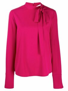 Blumarine pussy bow top - Pink