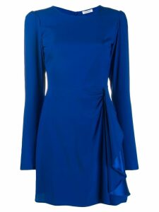 P.A.R.O.S.H. ruffled mini dress - Blue