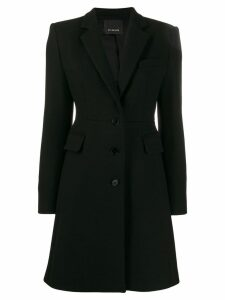 Pinko slim-fit tailored coat - Black