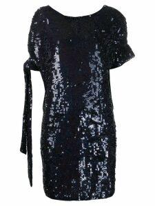 P.A.R.O.S.H. Gasoline sequin dress - Blue