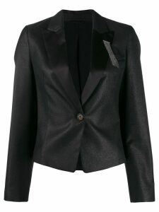 Brunello Cucinelli tailored blazer jacket - Black
