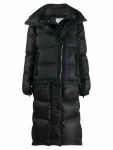 Sacai oversized padded coat - Black