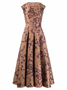 Talbot Runhof Tomini evening gown - Gold