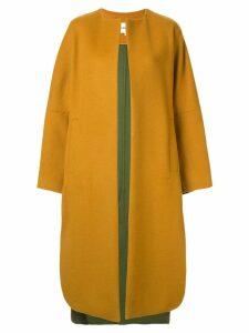 Enföld oversized coat - Yellow