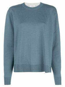 Casasola long sleeve sweater - Blue