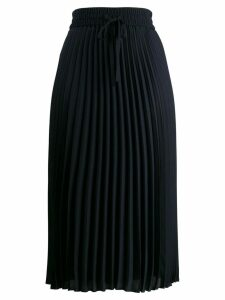 Red Valentino pleated mid-length skirt - Blue