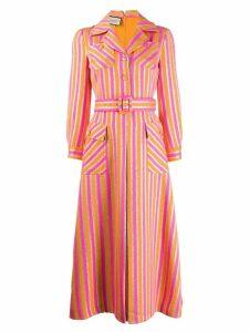 Gucci striped shirt dress - Pink