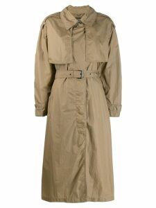 Isabel Marant oversized trench coat - Green
