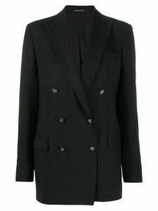Tagliatore double breasted blazer - Black