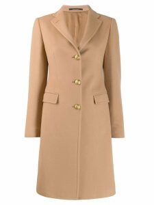 Tagliatore single-breasted coat - Brown