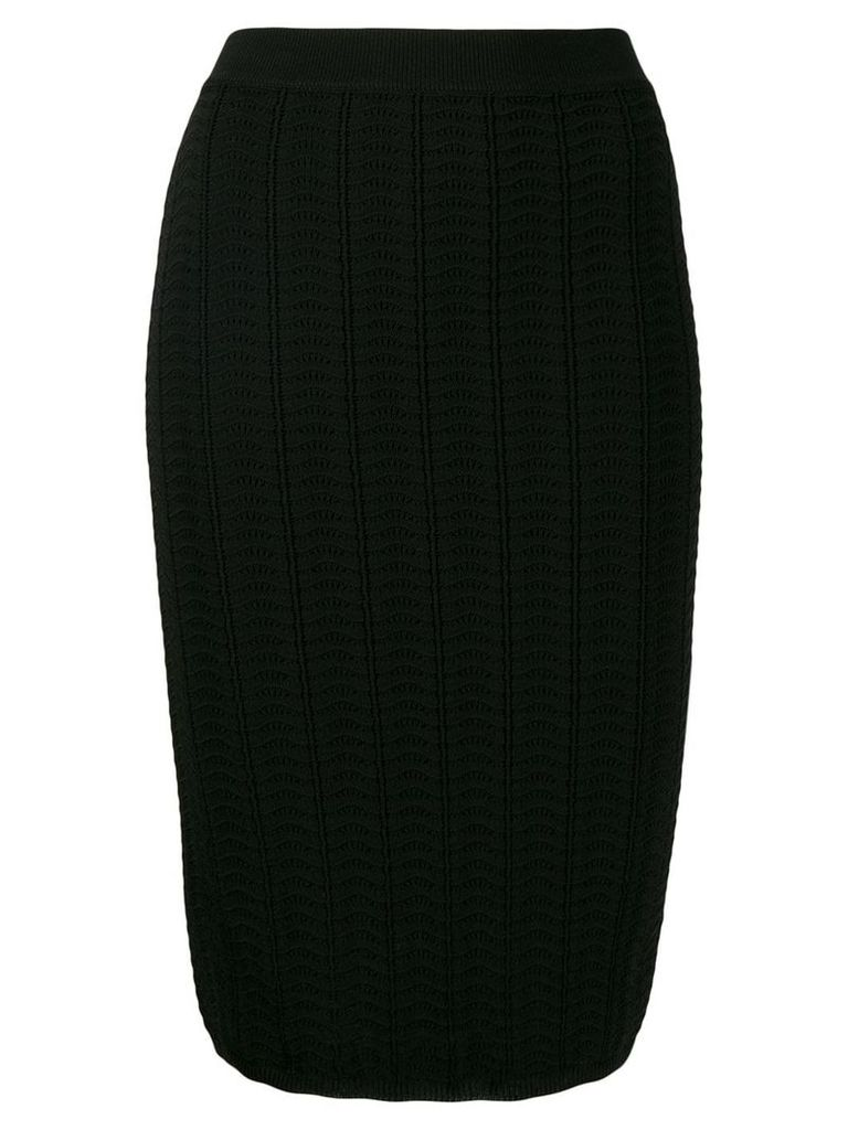Theory knitted skirt - Black