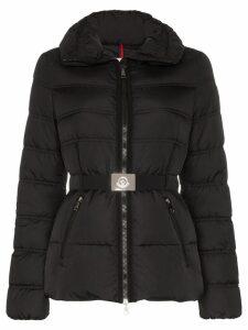 Moncler Alouette belted puffer jacket - Black