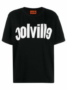 colville logo print T-shirt - Black