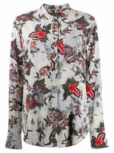 Isabel Marant floral printed shirt - Neutrals