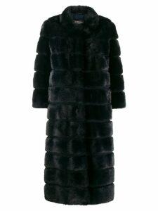 Simonetta Ravizza longline coat - Blue