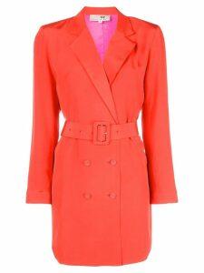 Fleur Du Mal belted blazer dress - Red