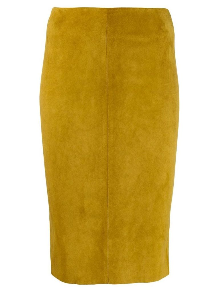 Drome high-rise pencil skirt - Green