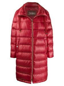 Herno padded shell jacket - Red
