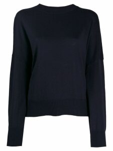 Enföld deconstructed knit sweater - Blue
