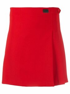 Blumarine pleated skirt - Red