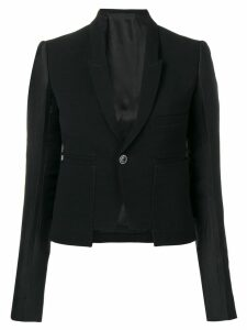 Rick Owens Alice cropped blazer - Black