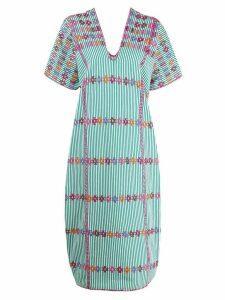 Pippa Holt striped shift dress - Green