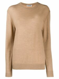 Jil Sander slim-fit wool sweater - Brown