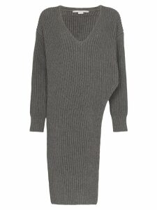 Stella McCartney long knitted jumper - Grey