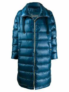Herno oversized puffer jacket - Blue