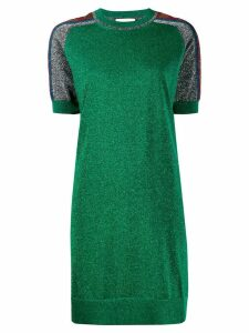 Gucci metallic T-shirt dress - Green