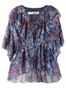 Iro Pasco blouse - Blue